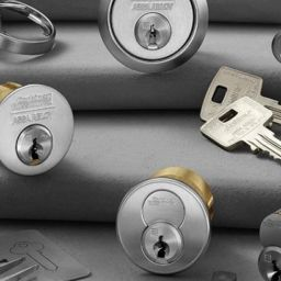 What is a restricted keyway system?